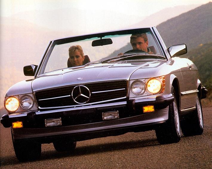 1986-1989 Mercedes-Benz 560SL eblogauto
