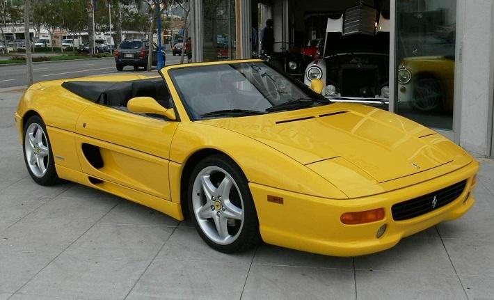 1994 to 1999 Ferrari F355 eblogauto