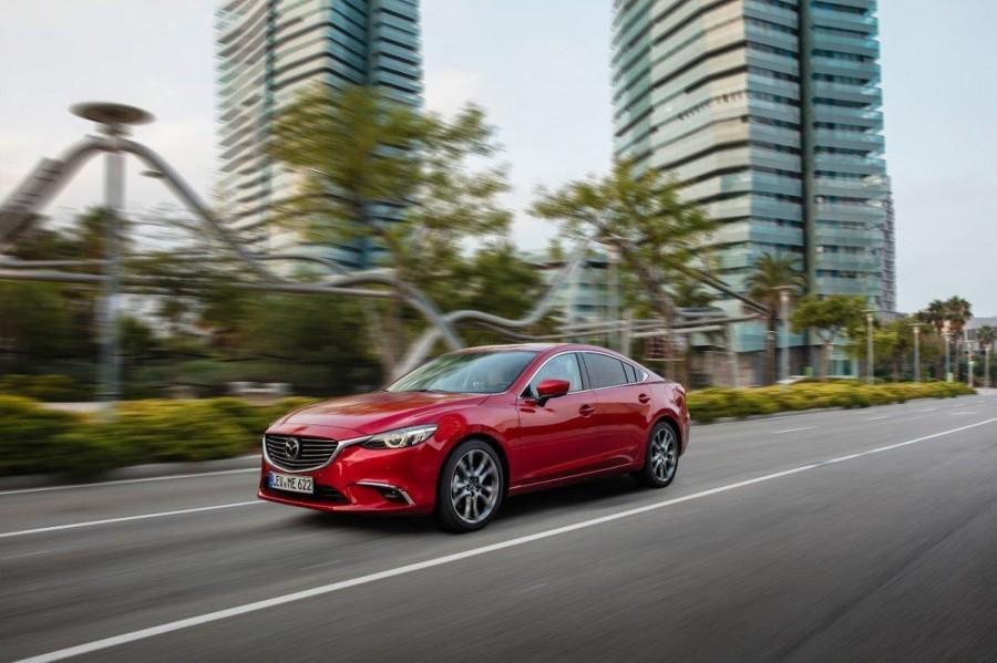 Mazda6 2017 este disponibila in Romania
