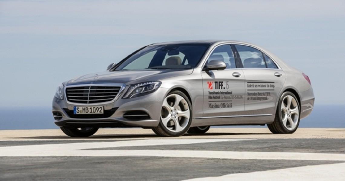 Mercedes-Benz este pentru a zecea oară Maşina Oficială a Festivalului Internaţional de Film Transilvania (TIFF)
