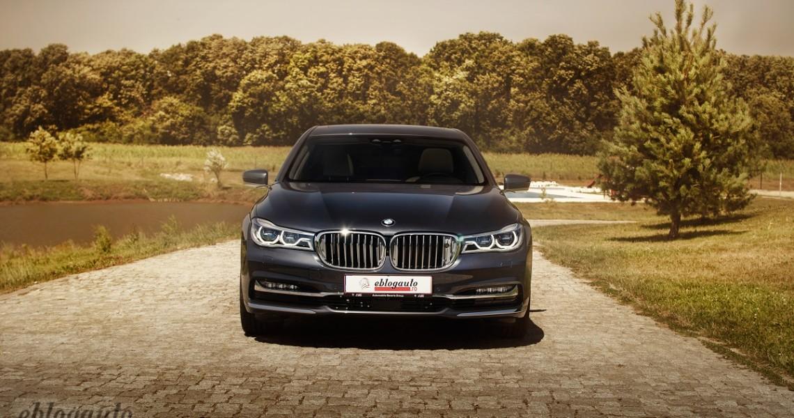 Test Drive BMW 740Ld xDrive (Seria 7) REVIEW & VIDEO