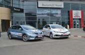 Politia Rutiera din Bucuresti a primit doua modele Toyota Auris Hybrid